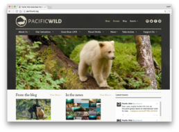 Pacific Wild Website